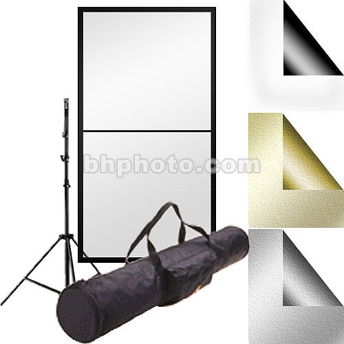 "Photoflex Reflector Kit #2 - 39x72"" PVC, Stand"