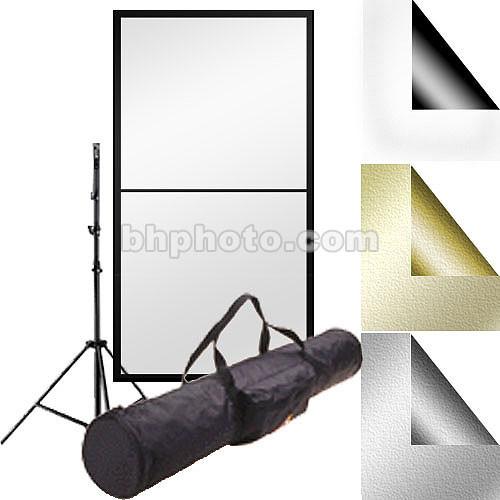 "Photoflex Reflector Kit #2 - 39x72"" PVC, Stand"