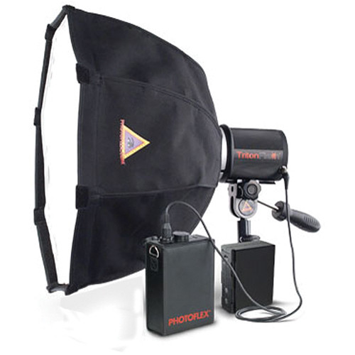 Photoflex TritonFlash OctoDome Lithium Battery Strobe Kit (XS)