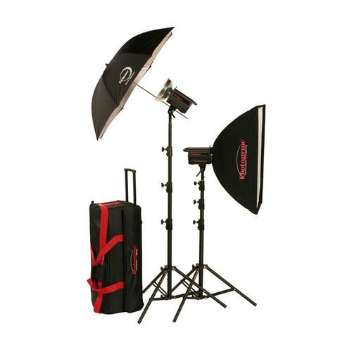 Photogenic 1,000W/s PowerLight Travel Kit (120V)