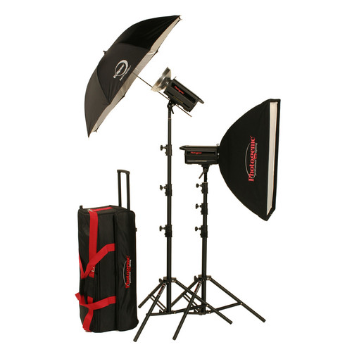 Photogenic 2,000W/s Solair Studio Power Kit with PocketWizard (120V)