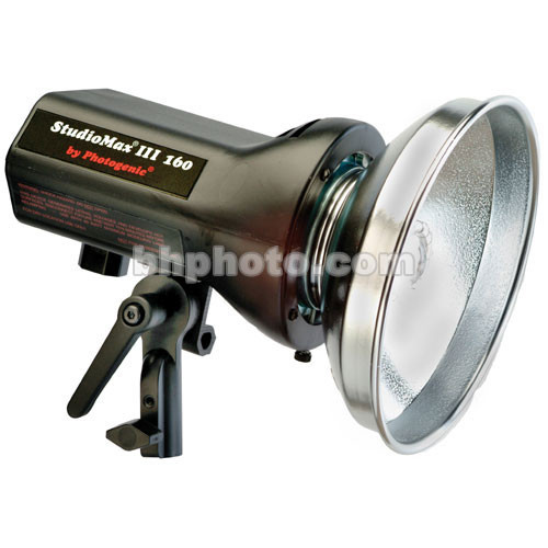 Photogenic StudioMax III 160 Watt/Second Radio Slave Monolight (120VAC)