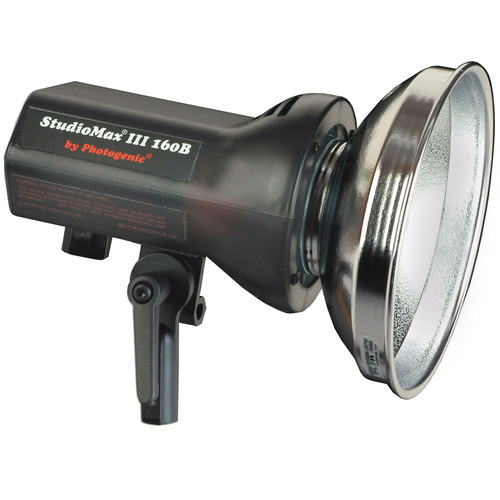 Photogenic StudioMax III 160 Watt/Second Monolight (120VAC/12VDC)