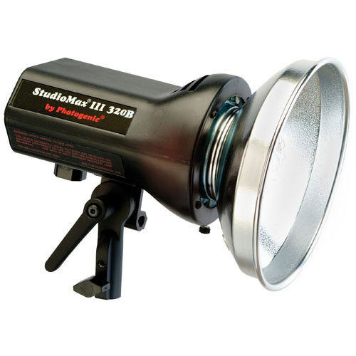 Photogenic StudioMax III 320 Watt/Second Radio Slave Monolight (120VAC/12VDC)
