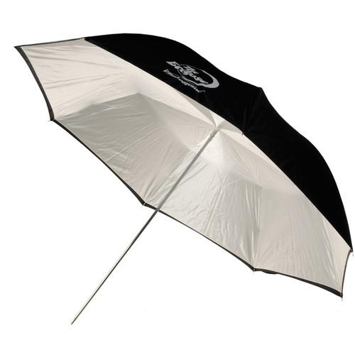 """Photogenic Umbrella - """"Eclipse"""" White, Black Cover - 60"""""""