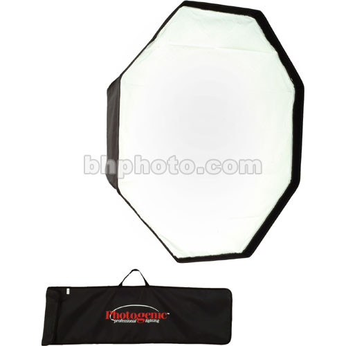 "Photogenic 48"" Octagonal Softbox with Back Plate and Mounting Ring"