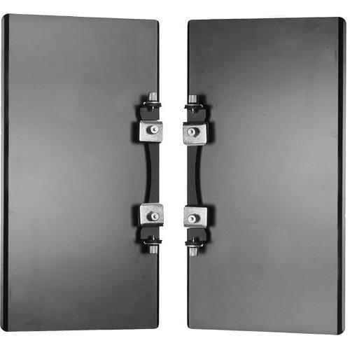 "Photogenic PL16BD 2-Panel Rectangular Barndoor Set for 16"" Reflector"