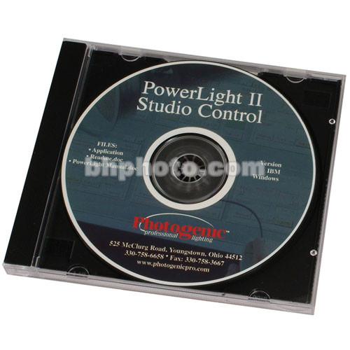 """Photogenic Studio Control for """"DR"""" Series Monolights - Windows Only"""