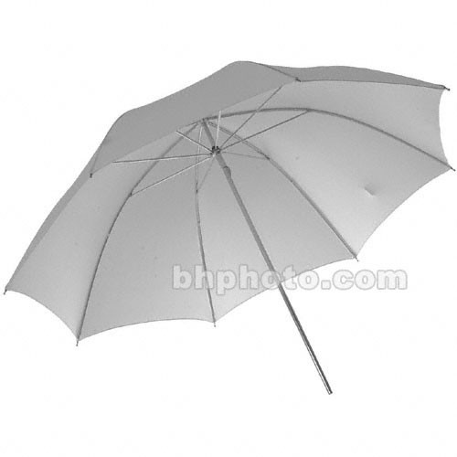 Photogenic Umbrella - White Satin - 45""