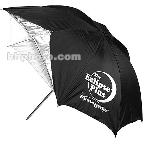 "Photogenic Umbrella - ""Eclipse Plus"" Silver - 45"""