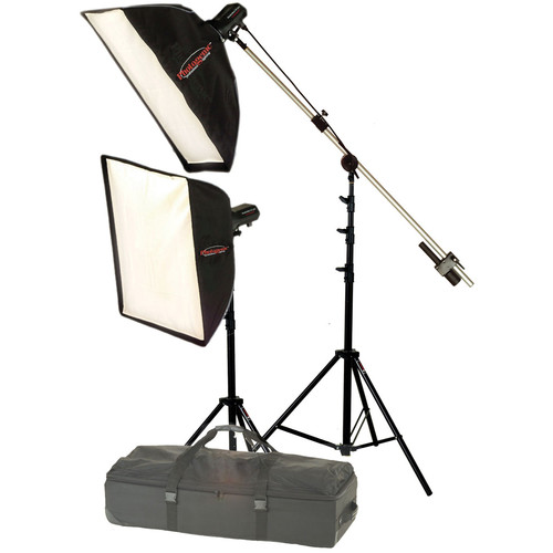 Photogenic StudioMax III Softbox Portrait Kit (120V)