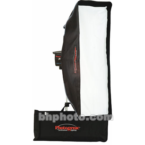 """Photogenic Softbox with Quick Change Adapter for Flash (12 x 36"""")"""