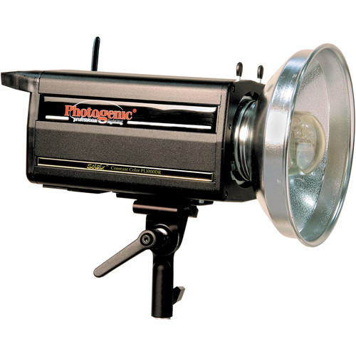 Photogenic PLR1000DRC Radio Solair 1,000W/s Monolight with PocketWizard Receiver