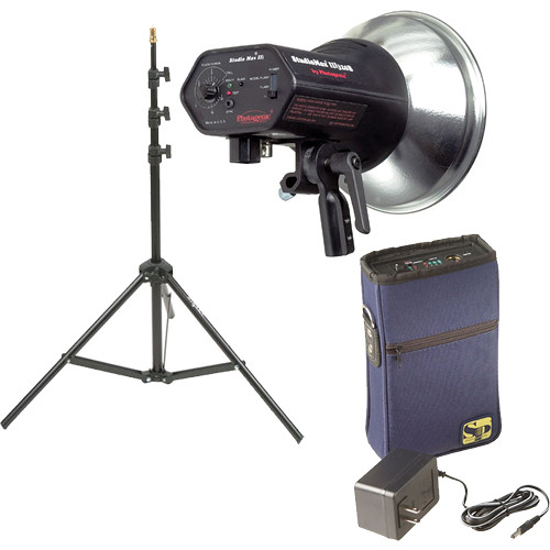 Photogenic StudioMax III Monolight Kit (120V AC/12V DC)