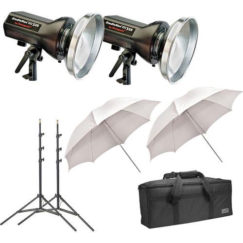 Photogenic - StudioMax III Two Monolight Portrait Studio Kit (120VAC) - BH #PHSM3P640K (B&H Kit)