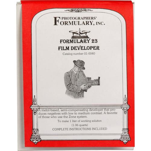 Photographers' Formulary Film Developer 23 (to Make 1L)