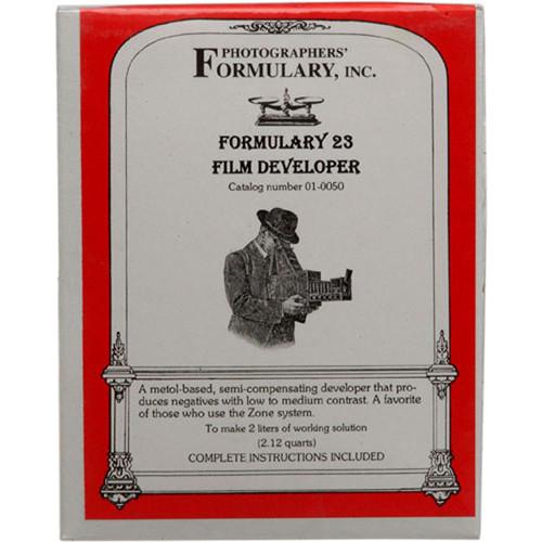Photographers' Formulary Film Developer 23 (to Make 2L)