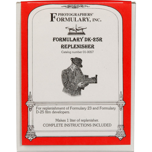 Photographers' Formulary DK-25R Developer Replenisher for D-23 & D-25 for Black & White Film