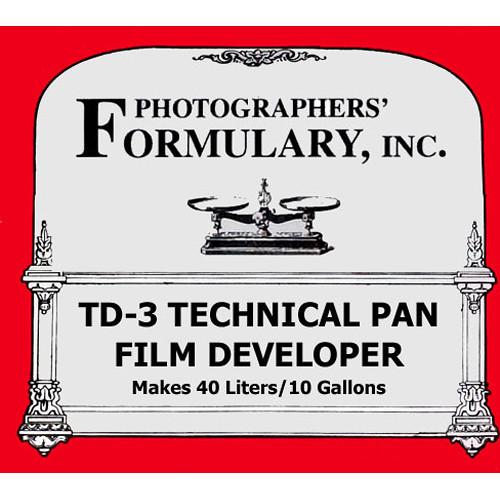 Photographers' Formulary TD-3 Developer for Black & White Tech Pan Film (Liquid)