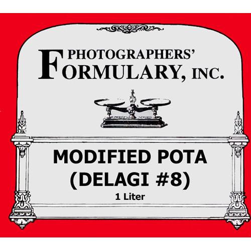 Photographers' Formulary Modified Pota (Delagi #8) Developer for Black & White Film - Makes 1 Liter