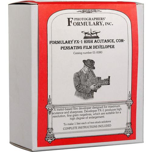 Photographers' Formulary FX-1 Developer for Black & White Film - Makes 2.5 Gallons