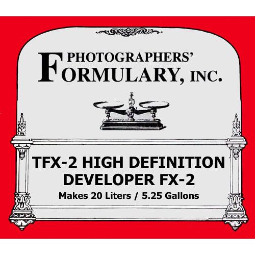 Photographers' Formulary TFX-2 High Definition Developer for Black & White Film - Makes 5.25 Gallons/20 Liters