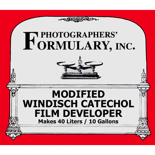 Photographers' Formulary Modified Windisch Catechol Developer for Black & White Film - Makes 10 Gallons/40 Liters
