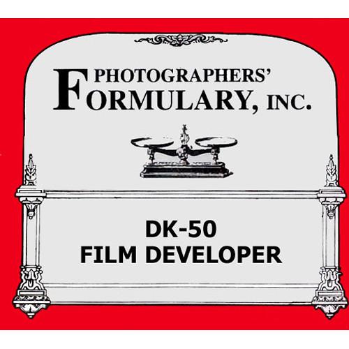 Photographers' Formulary Formulary Developer DK-50