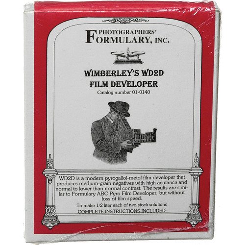 Photographers' Formulary Wimberley's WD2D Pyro-Metol Developer for Black & White Film