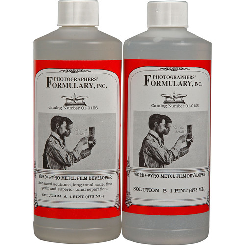Photographers' Formulary Wimberley WD2D+ Pyro-Metol Film Developer - 25 Liters (liquid)