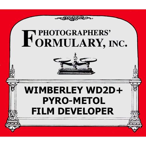 Photographers' Formulary Wimberley WD2D+ Pyro-Metol Film Developer - 25 Liters (Dry)