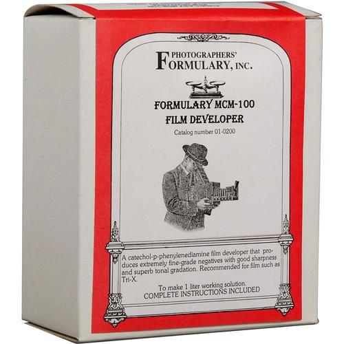 Photographers' Formulary MCM-100 Developer for Black & White Film - Makes 1 Liters