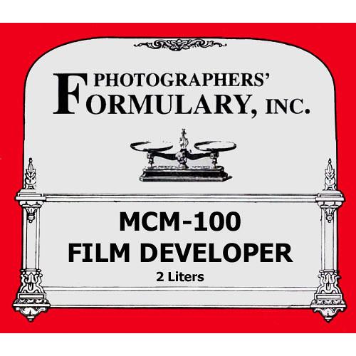 Photographers' Formulary MCM-100 Developer for Black & White Film - Makes 2 Liters