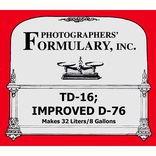 Photographers' Formulary TD-16 Developer for Black & White Film
