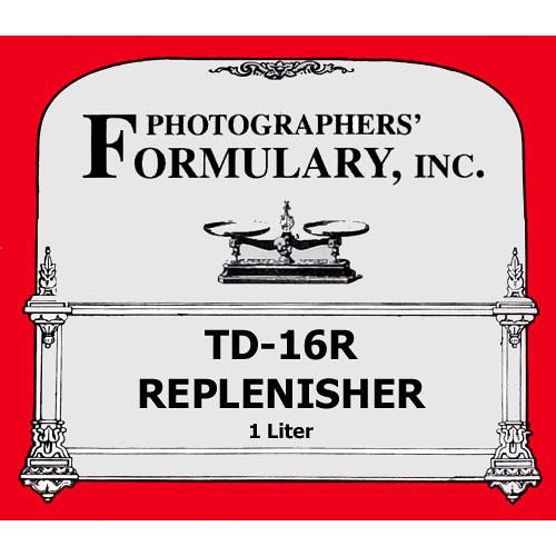 Photographers' Formulary TD-16R Developer Replenisher for TD-16 for Black & White Film - Makes 1 Liter