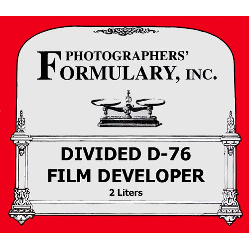Photographers' Formulary Divided D-76 Developer for Black & White Film - Makes 2 Liters