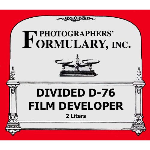 Photographers' Formulary Divided D-76 Developer for Black & White Film - Makes 2 Liters