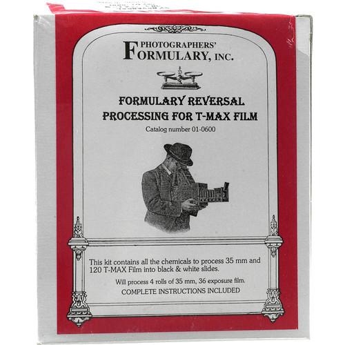 Photographers' Formulary Reversal Process Developer T-Max for Black & White Slide Film