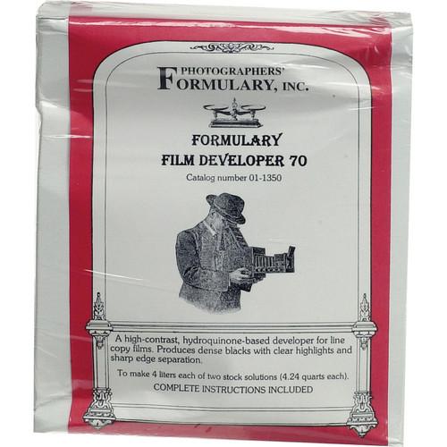 Photographers' Formulary Kodalith Developer for Black & White Film (Makes 4 Liters)