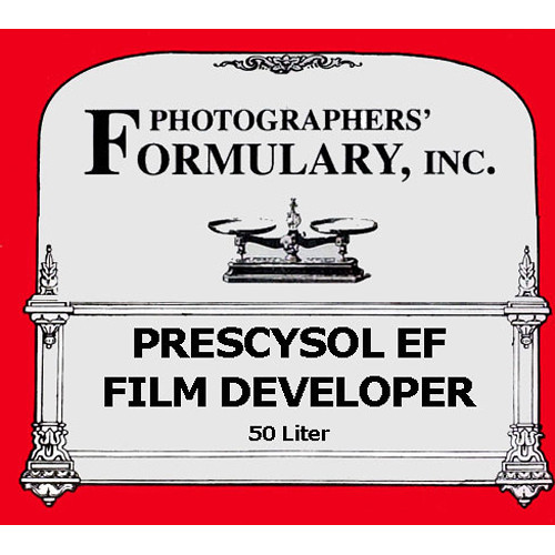 Photographers' Formulary Prescysol EF Film Developer - Makes 50 Liters  (13.2 gal)