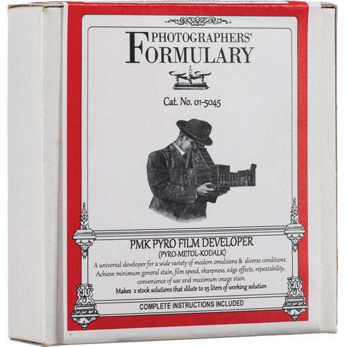 Photographers' Formulary PMK Pyro-Metol Kodalk Developer for Black & White Film (Powder)