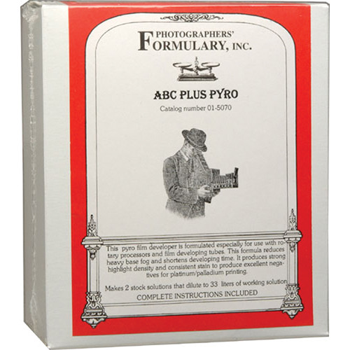 Photographers' Formulary ABC Plus Pyro Developer for Black & White Film - Makes 33 Liters