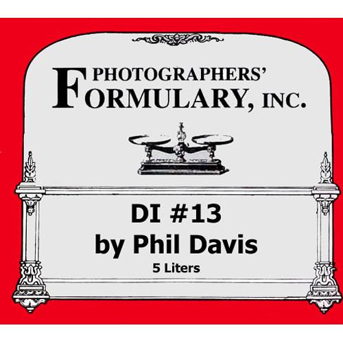 Photographers' Formulary DI-13 Developer for Black & White Film - Makes 5 Liters