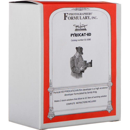 Photographers' Formulary Pyrocat HD Film Developer (Dry) - Makes 10 Liters