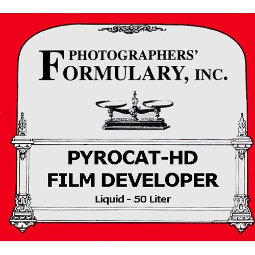 Photographers' Formulary PyroCat-HD Film Developer (Liquid) - Makes 50 Liter  (13.2 gal)