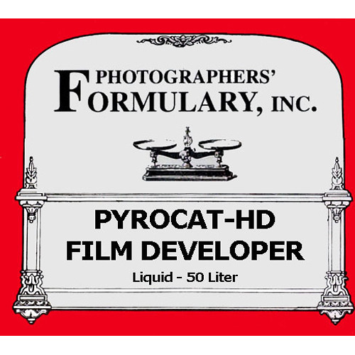 Photographers' Formulary PyroCat-HD Film Developer - Makes 50 Liter  (13.2 gal)