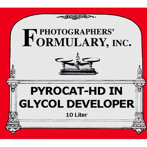 Photographers' Formulary PyroCat-HD Film Developer - Makes 10 Liter  (2.6 gal)