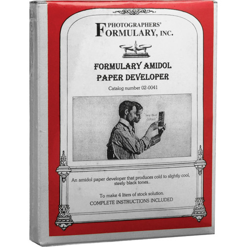 Photographers' Formulary Amidol Developer for Black & Whiter Paper