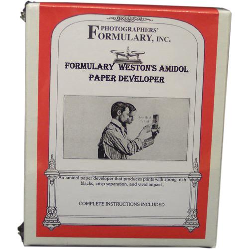 Photographers' Formulary Amidol AZO Paper Developer  - Makes 1 Liter (.3 gal)