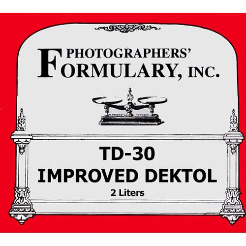 Photographers' Formulary TD-30 Developer for Black & White Paper - Makes 2 Liters